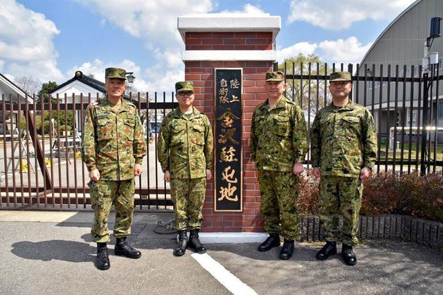 画像2: 案内看板を新設し除幕式|金沢駐屯地