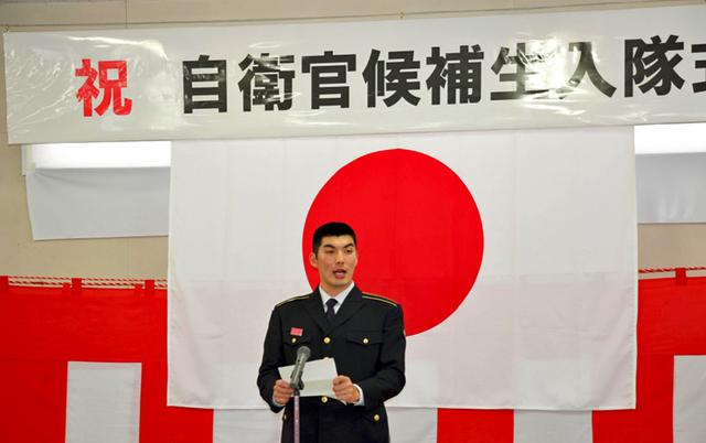 画像2: 自候生75人が入隊|松山駐屯地
