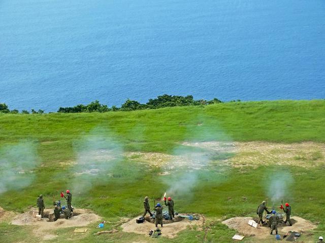 画像: 実弾を使用し対空射撃訓練|陸自4師団