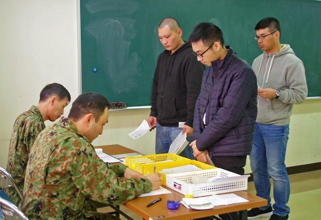 画像: 採用年齢引き上げ後、初着隊|武山駐屯地