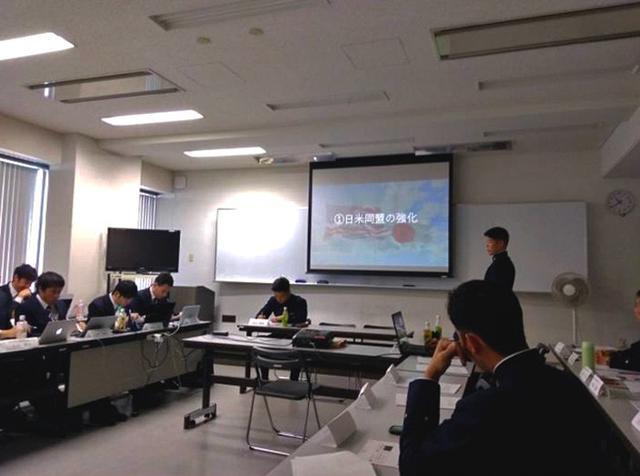 画像: 防大生・京大生 白熱討論|京都地本