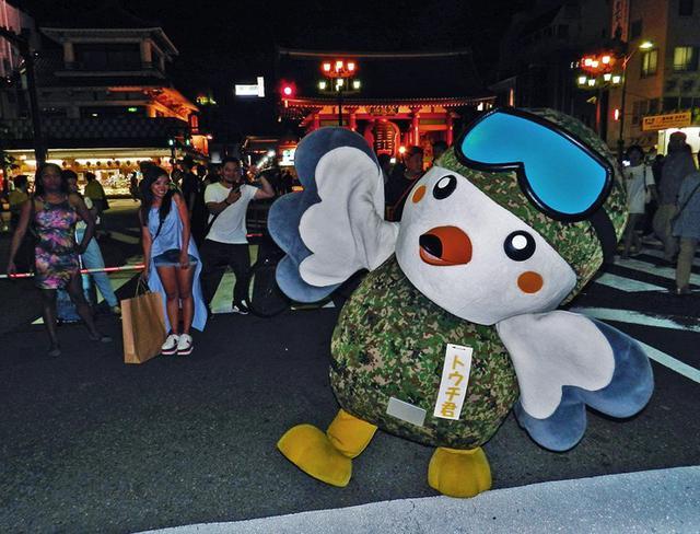 画像: 浅草のイベントで自衛隊をPR|東京地本