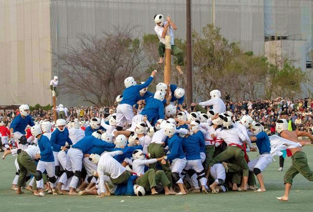 画像: 名物棒倒し 2大隊が3連覇|防衛大学校