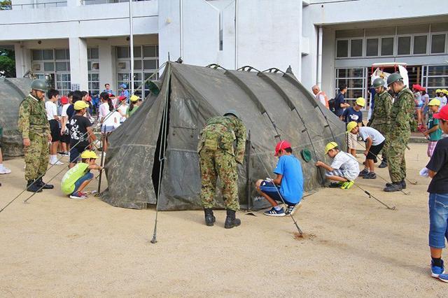 画像: 防災訓練で住民らと信頼関係醸成|板妻駐屯地