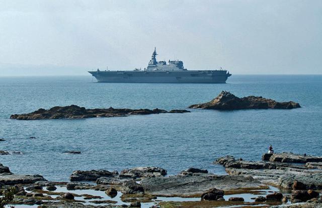 画像: 護衛艦「いずも」寄港支援|島根地本