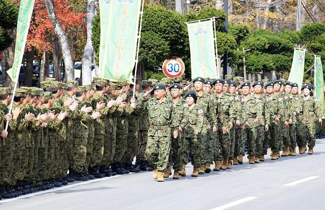 画像: 国連プロジェクトから隊員帰国 南恵庭駐屯地