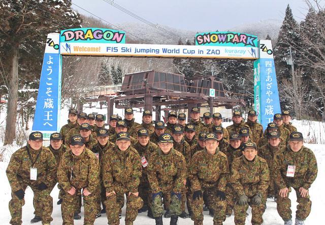 画像4: 女子スキージャンプワールドカップを支援|神町駐屯地