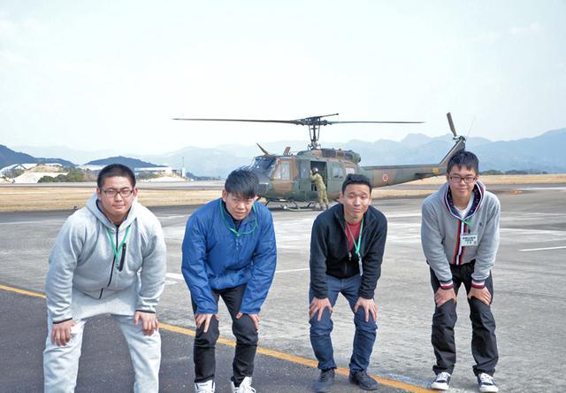 画像5: UH1J ヘリ体験搭乗を開催|和歌山地本