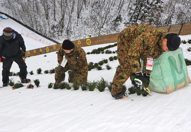 画像3: 女子スキージャンプワールドカップを支援|神町駐屯地