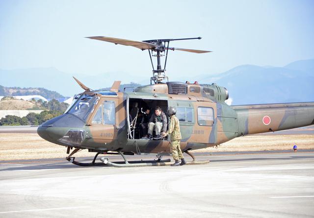 画像4: UH1J ヘリ体験搭乗を開催|和歌山地本