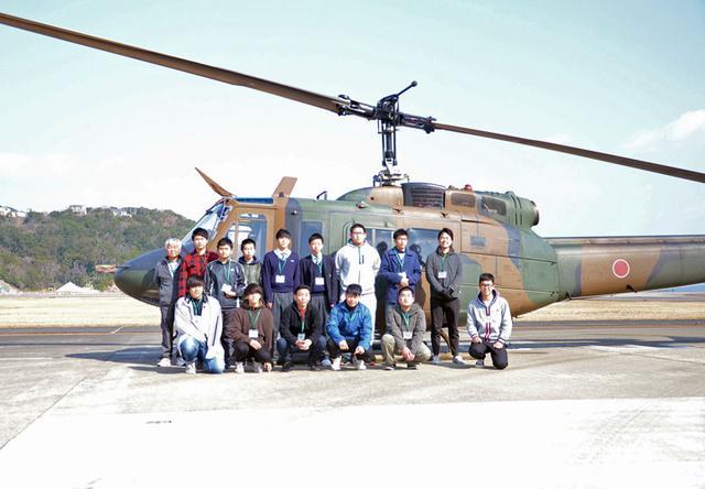 画像1: UH1J ヘリ体験搭乗を開催|和歌山地本