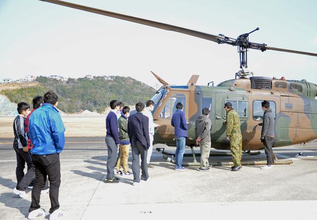 画像3: UH1J ヘリ体験搭乗を開催|和歌山地本