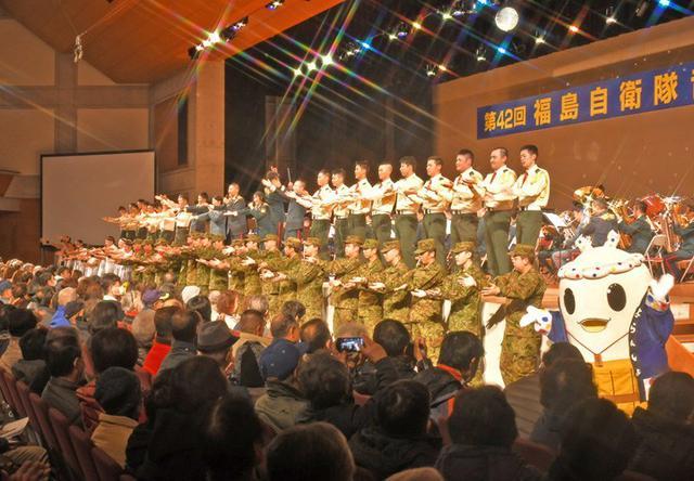 画像4: 「平和への思い」音楽祭に3200人|福島駐屯地