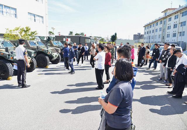 画像1: 陸海空自 合同研修に169人|沖縄地本