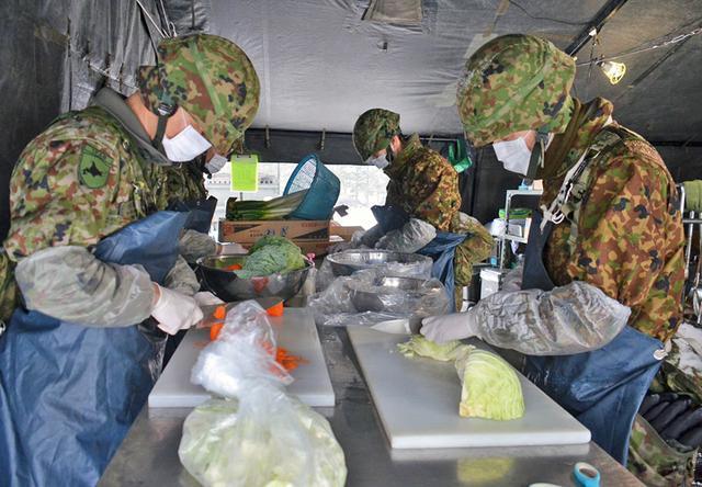 画像1: 「士気の上がる昼食」テーマに炊事競技会|北千歳駐屯地