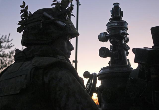 画像11: 青野ヶ原演習場で特科中隊訓練検閲|姫路駐屯地
