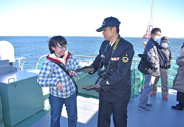 画像4: 海自掃海艇 体験航海・広報に390人|三重地本