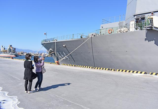 画像13: 海自掃海艇 体験航海・広報に390人|三重地本