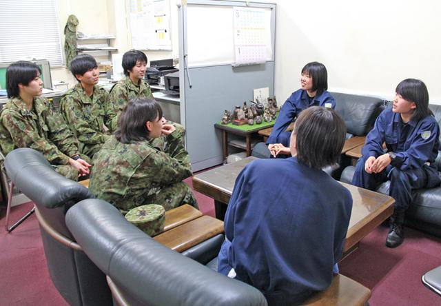 画像8: 警察学校生が自衛隊を体験|三軒屋駐屯地