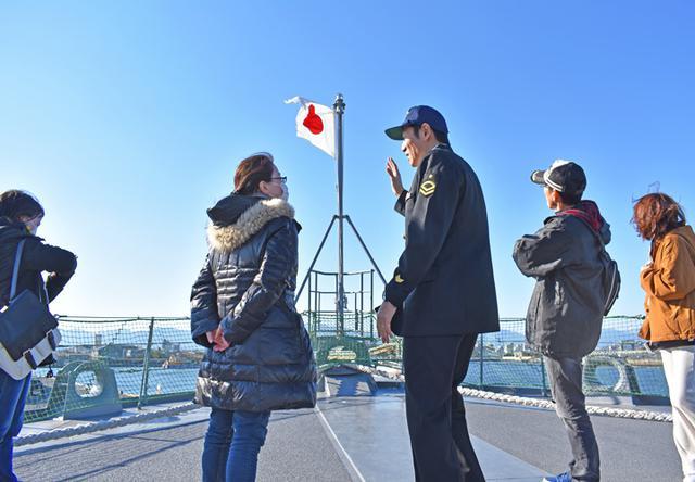 画像12: 海自掃海艇 体験航海・広報に390人|三重地本