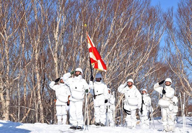画像11: 恒例の八甲田演習に622人|青森駐屯地