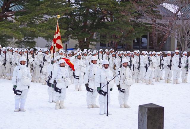 画像3: 恒例の八甲田演習に622人|青森駐屯地