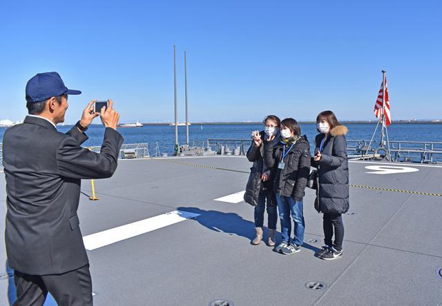 画像11: 海自掃海艇 体験航海・広報に390人|三重地本
