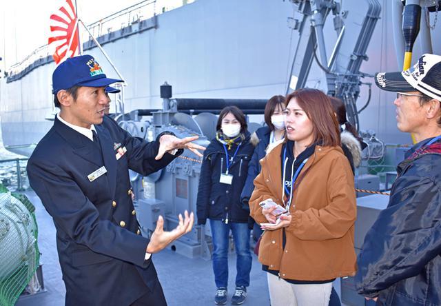 画像9: 海自掃海艇 体験航海・広報に390人|三重地本