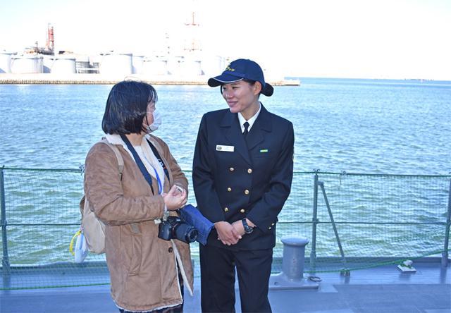 画像7: 海自掃海艇 体験航海・広報に390人|三重地本