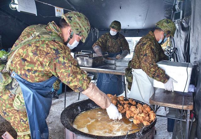 画像3: 「士気の上がる昼食」テーマに炊事競技会|北千歳駐屯地