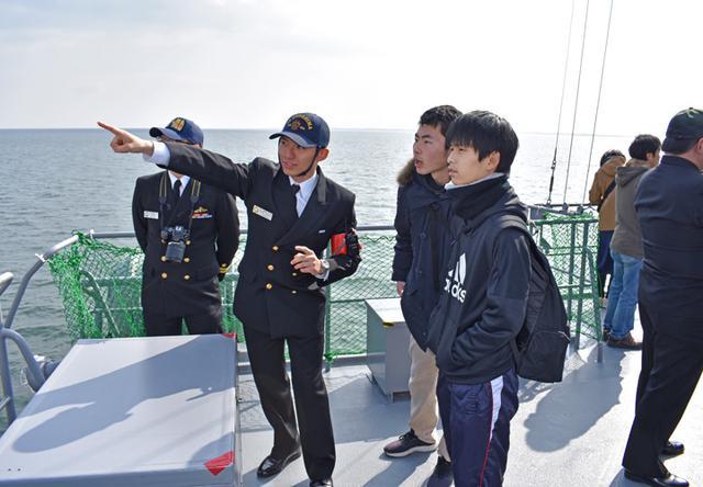 画像3: 海自掃海艇 体験航海・広報に390人|三重地本