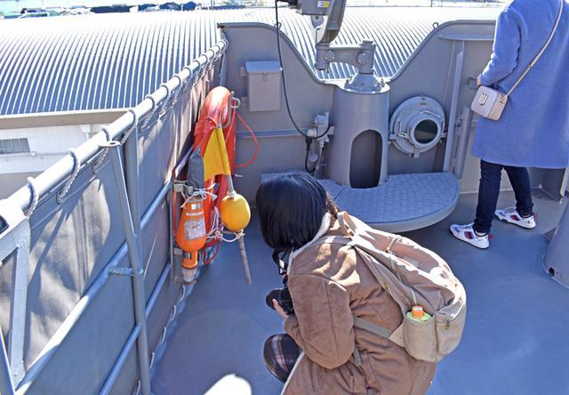 画像8: 海自掃海艇 体験航海・広報に390人|三重地本