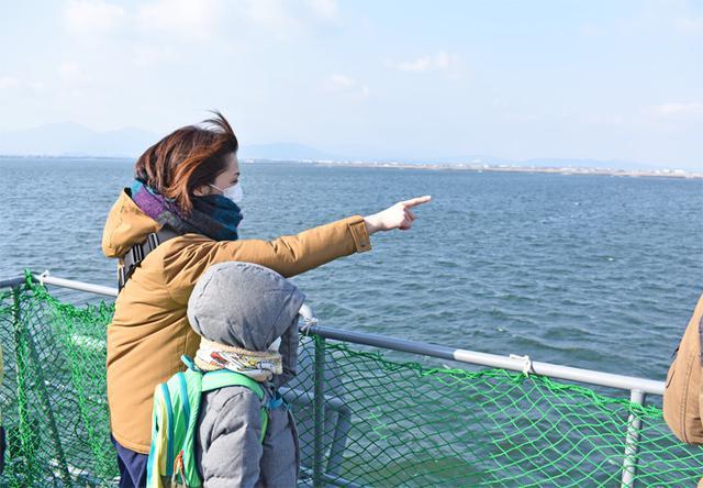 画像5: 海自掃海艇 体験航海・広報に390人|三重地本