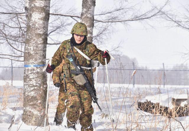 画像4: 氷点下でのスキー行進・総合戦闘訓練|美幌駐屯地