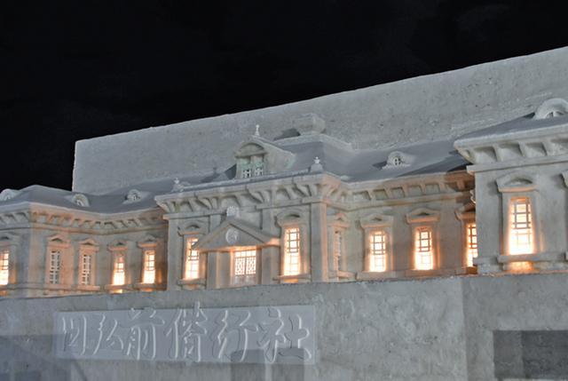 画像5: 「雪燈籠まつり」隊員65人が雪像制作|弘前駐屯地