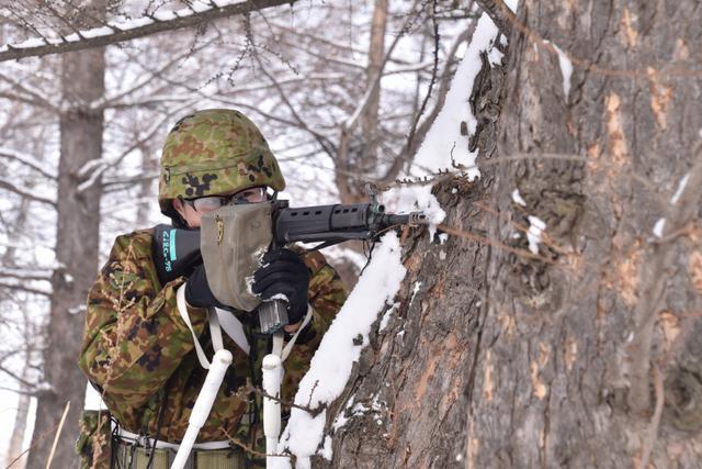 画像11: 氷点下でのスキー行進・総合戦闘訓練|美幌駐屯地