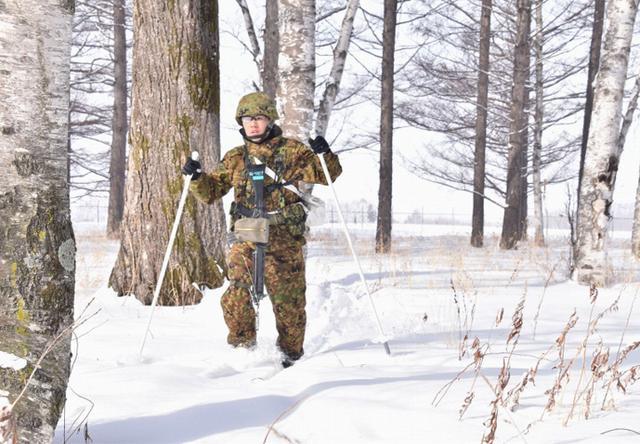 画像5: 氷点下でのスキー行進・総合戦闘訓練|美幌駐屯地