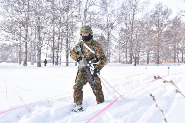 画像8: 氷点下でのスキー行進・総合戦闘訓練|美幌駐屯地