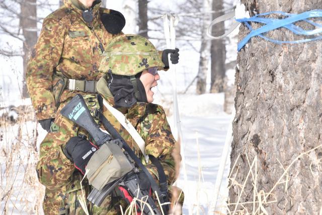 画像10: 氷点下でのスキー行進・総合戦闘訓練|美幌駐屯地