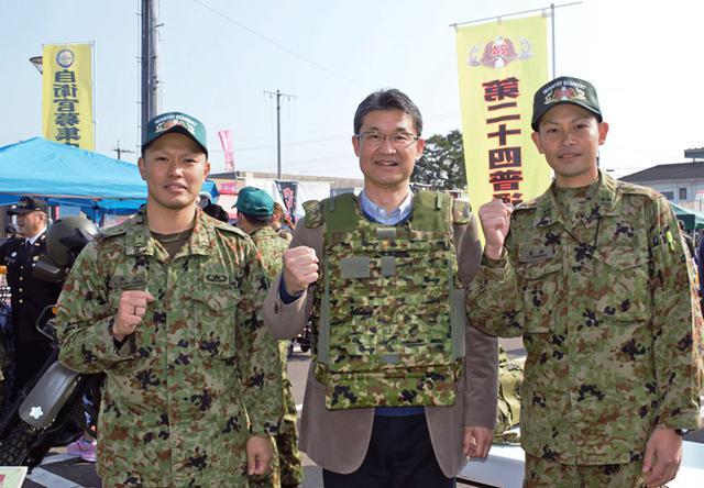 画像2: 自衛隊のまちー「京町二日市」で自衛隊PR|えびの駐屯地