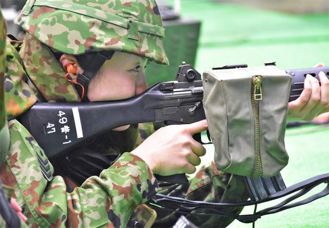画像2: 予備自衛官が小銃射撃・戦闘訓練|豊川駐屯地