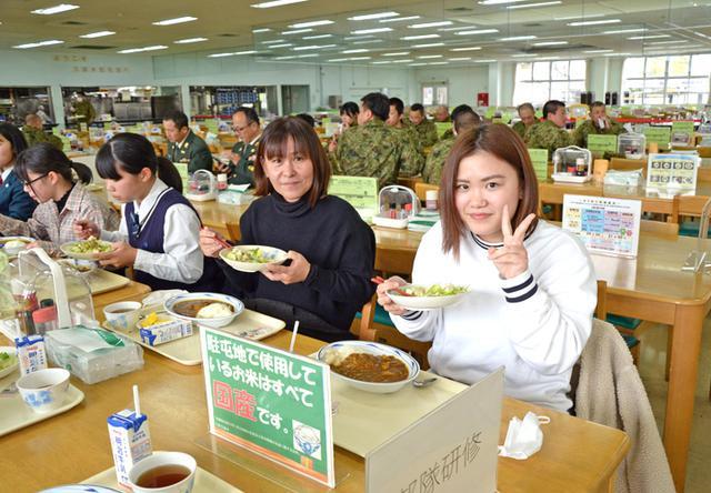 画像4: 女子入隊予定者が教育部隊を研修|鹿児島地本