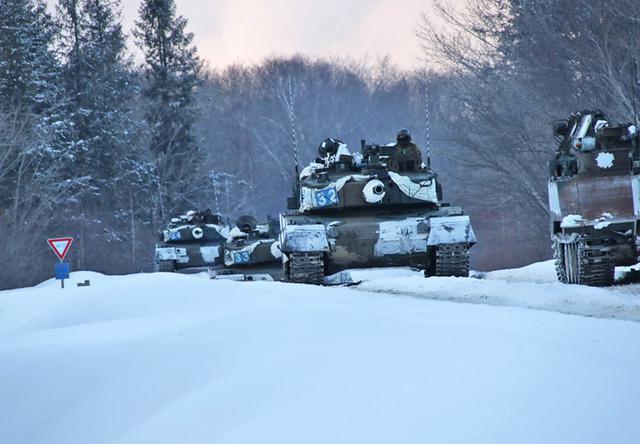 画像1: 積雪寒冷地での戦闘力 72戦闘団訓練検閲|陸自7師団