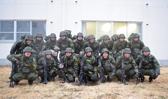 画像8: 自衛官候補生、気温0度下で25km行進|青森駐屯地