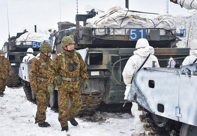 画像5: 積雪寒冷地での戦闘力 72戦闘団訓練検閲|陸自7師団
