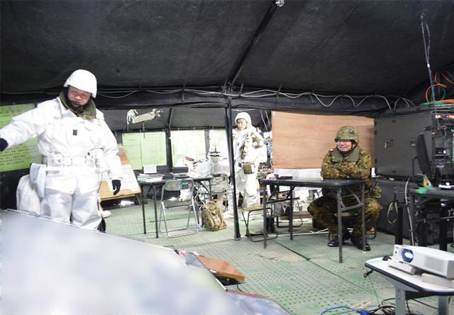 画像8: 積雪寒冷地での戦闘力 72戦闘団訓練検閲|陸自7師団