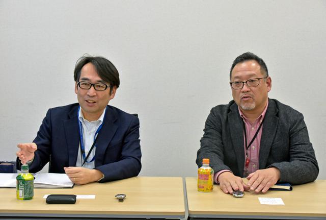 画像: (左)大高聡明氏 (右)山口功氏