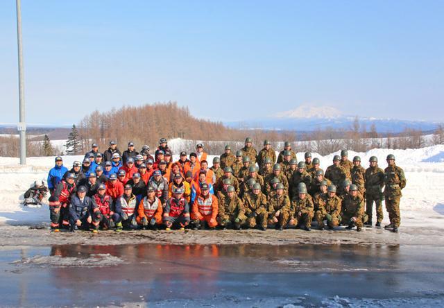 画像5: 消防と冬山遭難の共同訓練、連携強化|美幌駐屯地