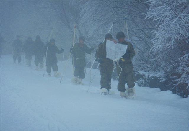 画像3: 雪道機動・遭難救助訓練に隊員200人|金沢駐屯地