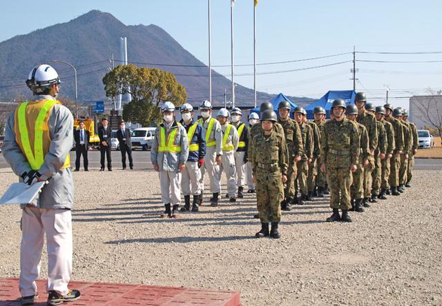 画像2: 東海地震想定し大規模訓練|陸自14旅団